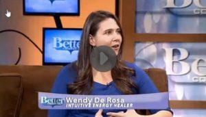Wendy De Rosa offers a healing on Better Connecticut/CBS News